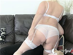 AgedLovE Lacey Starr entices gonzo fuckfest lover