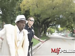 milf cops make pimp suspect take turns to nail their pussies