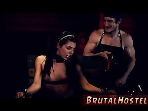 raunchy three dimensional monster smash and sub lady training skimpy lil' Latina nubile Gina Valentina is