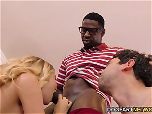 Haley Reed abases hotwife With two ebony men