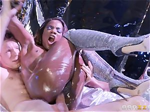 Ana Foxxx wet and humped stiff