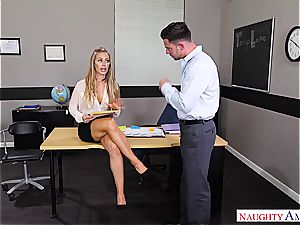 The hottest professor Nicole Aniston wants dick for her blessing