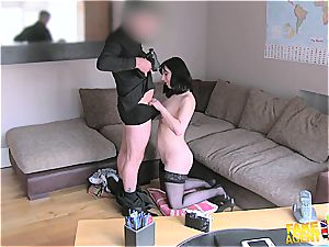 insatiable nurse in need of a rapid payment shagged
