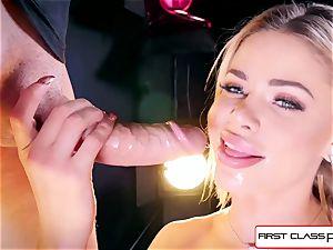 watch Jessa Rhodes taking a ginormous manhood down her hatch
