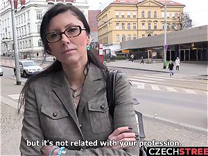 Czech milf secretary Pickup up and ravaged